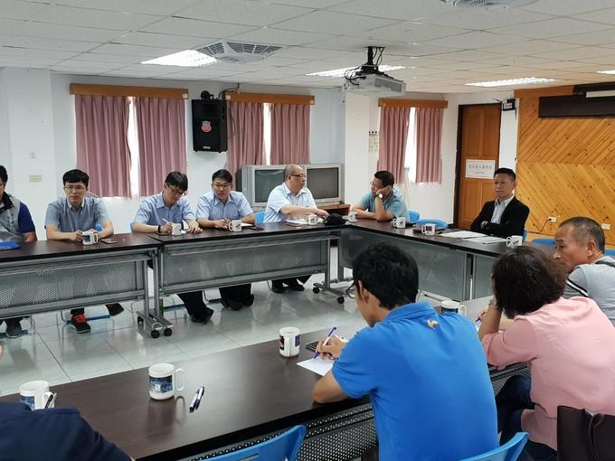 立委陳雪生國會辦公室召開解除馬祖養殖淡菜輸台重量限制會議  照片