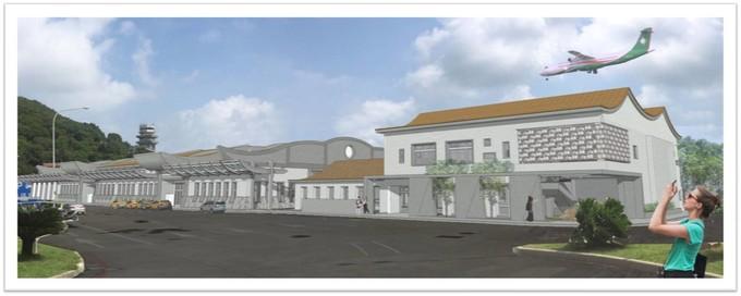 南竿機場二航廈開工動工典禮 預計110年3月完工  照片