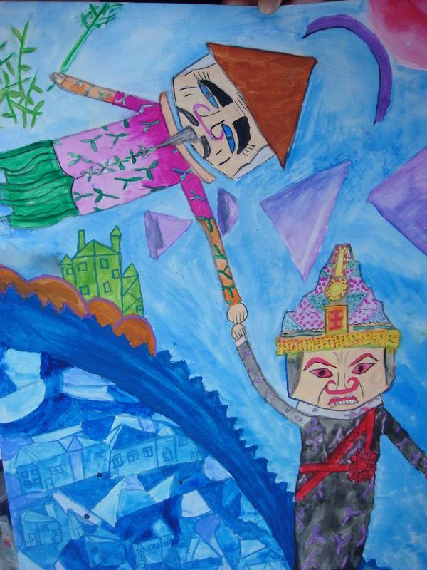 連江縣立東引國民中小學國小學生參加 第42屆世界兒童畫展 榮獲優選及佳作獎項  圖片